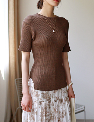 around knit top