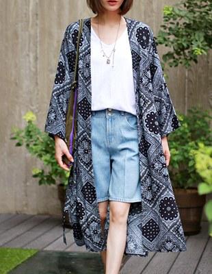 bandana robe