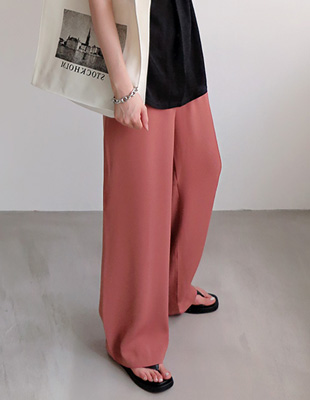 ripply wide pants