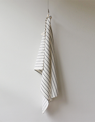 Stripe linen Tea Towel