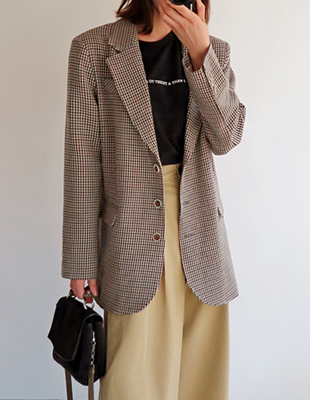 Bremen check jacket